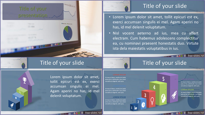 free Chart PowerPoint template from free-slides.net