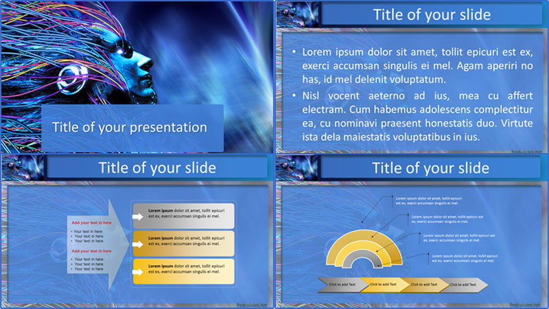 Android powerpoint template from free-slides.net