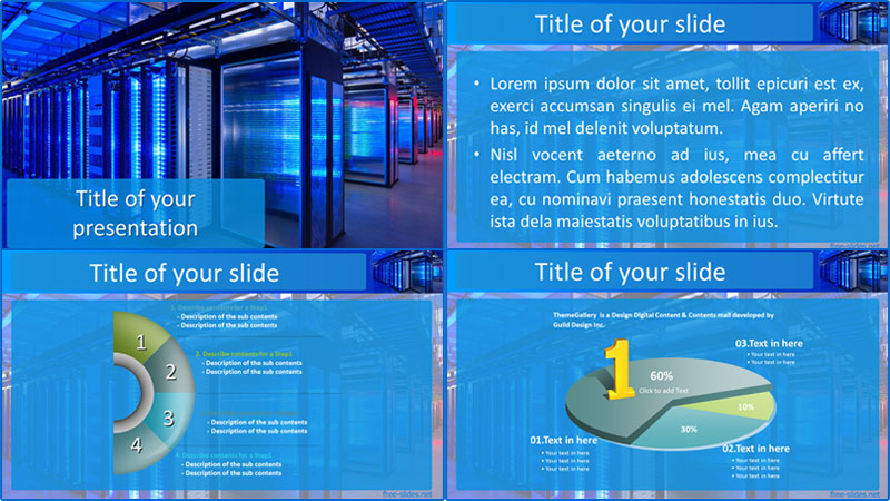 Host company powerpoint template from free-slides.net