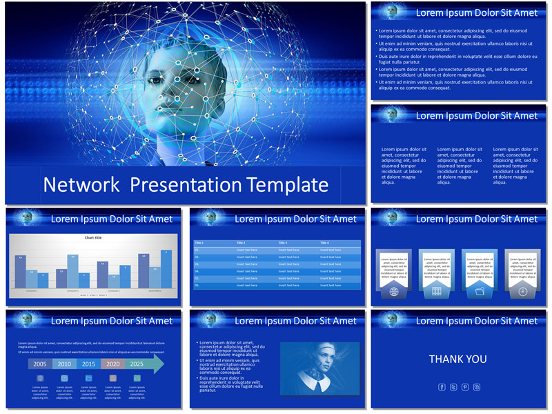 network free presentation template