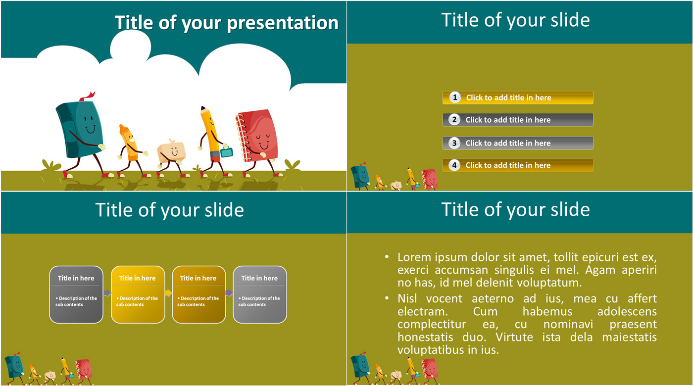 Knowing comes powerpoint template