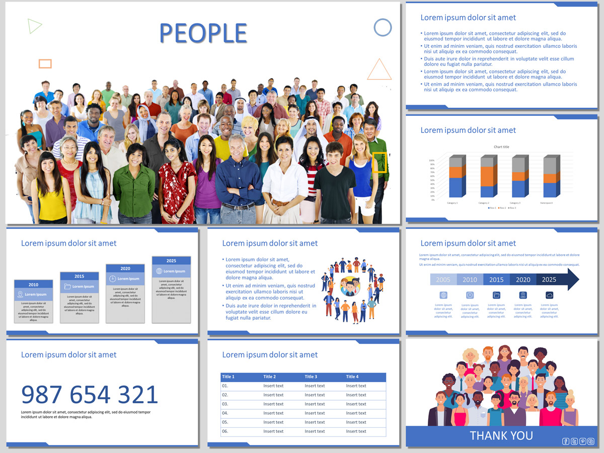 People Presentation Template (Free)