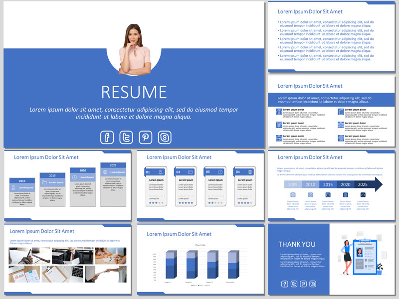 Resume Presentation Template