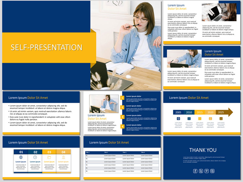 Self-Presentation Template
