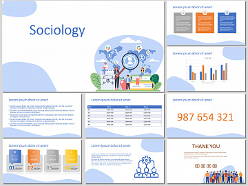 Sociology - Free PowerPoint Template and Google Slides Theme