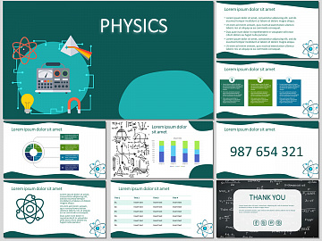 Physics - Free PowerPoint Template and Google Slides Theme